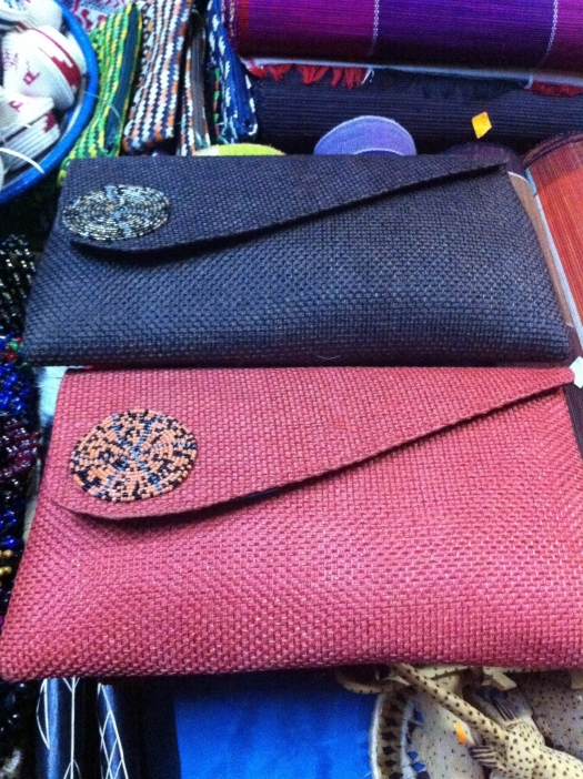 I've been obsessed with these clutches since I arrived. Planning on coming back to the States with a dozen of these in each color. At least.