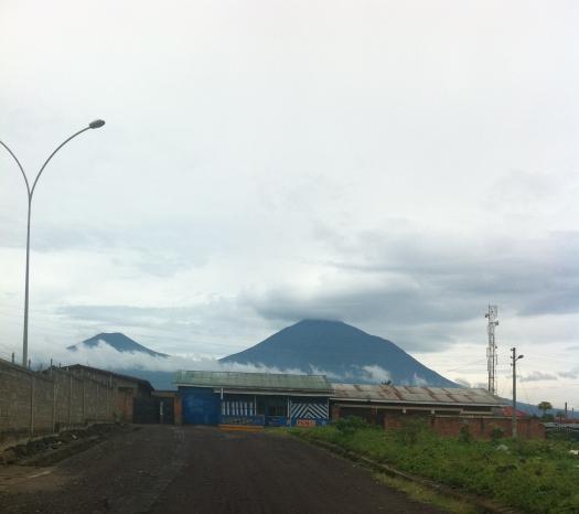 Volcano Muhabura.