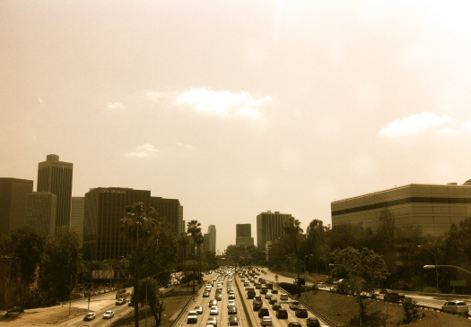 What would people complain about in LA if there was no traffic?