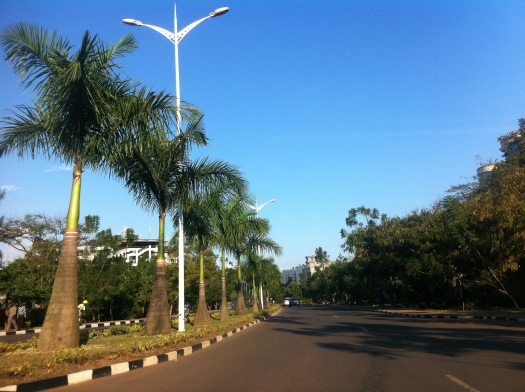 Cleanest streets under the Equator. Kigali By Day.
