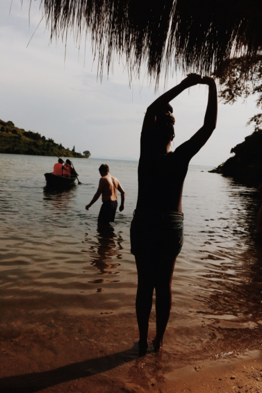 March 2014. Lake Kivu.