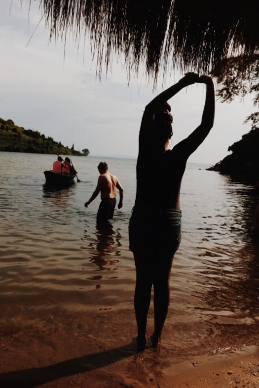 March 2014. Lake Kivu.